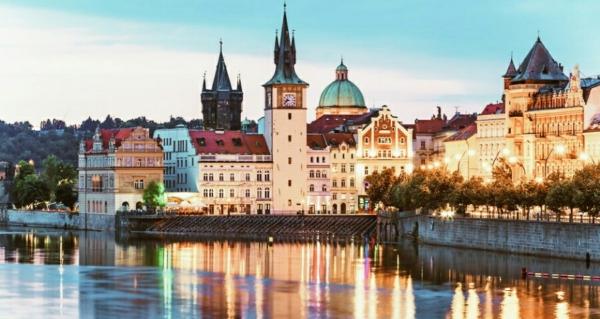 Пронизанная романтичным очарованием столица Чехии...Прага...